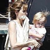 Pictures of Angelina Jolie and Vivienne
