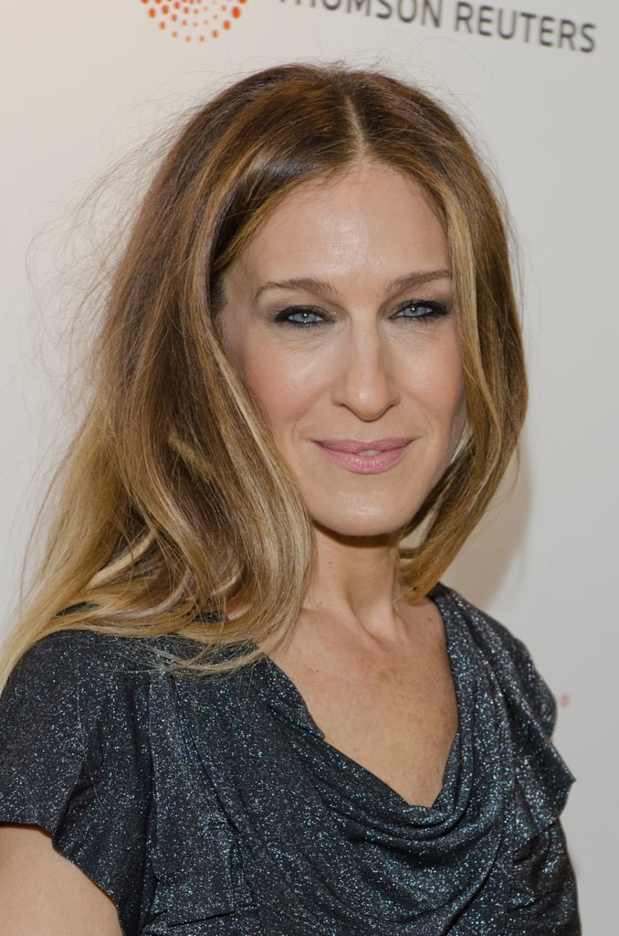 SJP posed for photos before the event.