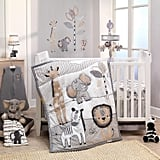 Lambs & Ivy Jungle Safari Nursery 6-Piece Baby Crib Bedding Set