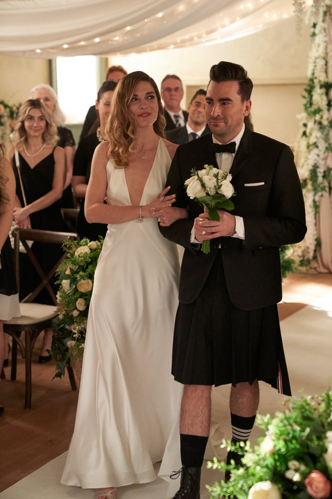 David Rose's Outfit at His Wedding on Schitt's Creek