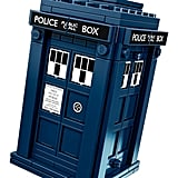 The TARDIS looking exactly like on TV!