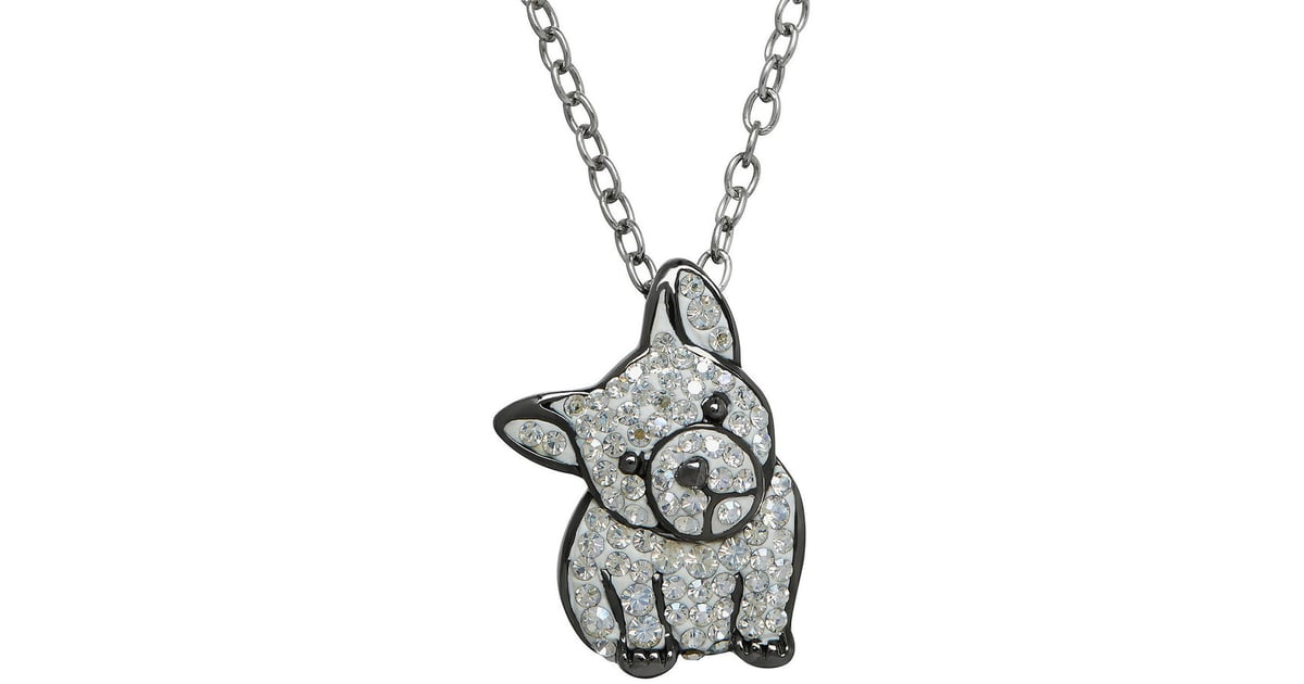 Animal planet crystal sterling silver french bulldog pendant animal planet crystal sterling silver french bulldog pendant necklace gifts for french bulldog owners popsugar pets photo 23 mozeypictures Images