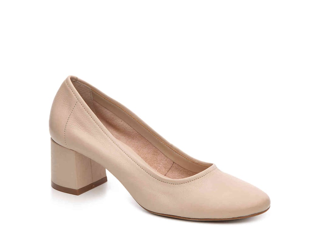 Steve Madden's Tattlee Pump ($90) comes in a blush shade, which is practically the new neutral.