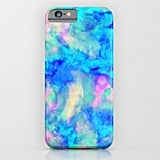 Society6 Amy Sia Electrifying Ice Blue Slim Case ($28, originally $35)