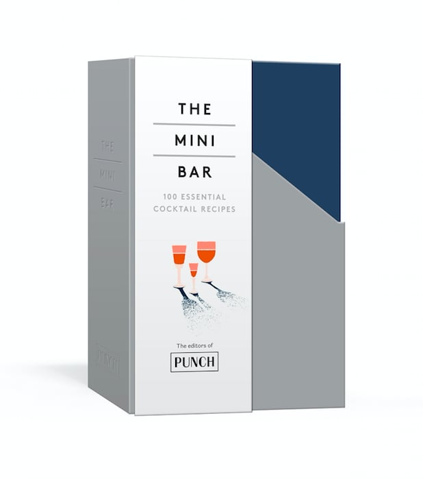 The Mini Bar: 100 Essential Cocktail Recipes; 8 Notebook Set