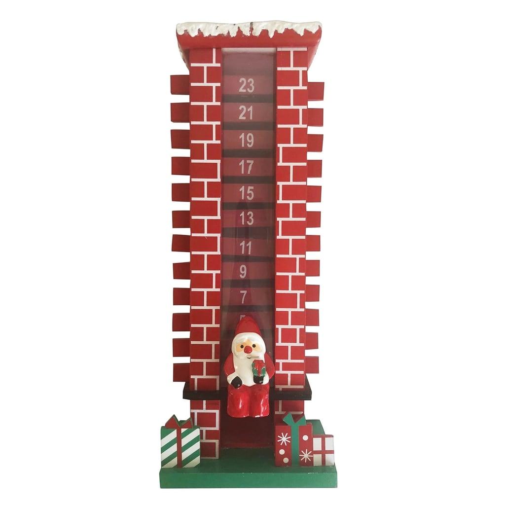 Santa Clause Chimney Advent Calendar Best Christmas