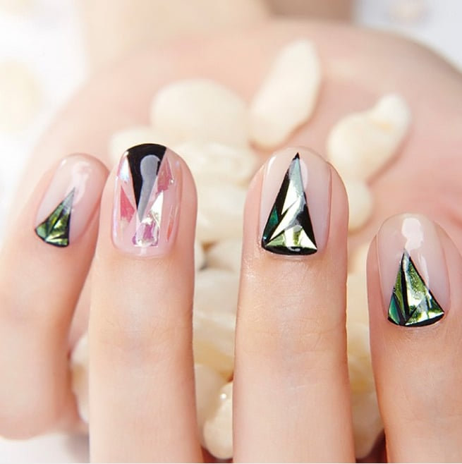 Glass nail art popsugar beauty australia photo 24 glass nail art is the latest korean beauty craze you need to try prinsesfo Image collections
