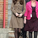 Kate Middleton picked an Orla Kiely dress for Oxford.