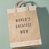 Apolis World's Greatest Mom Tote