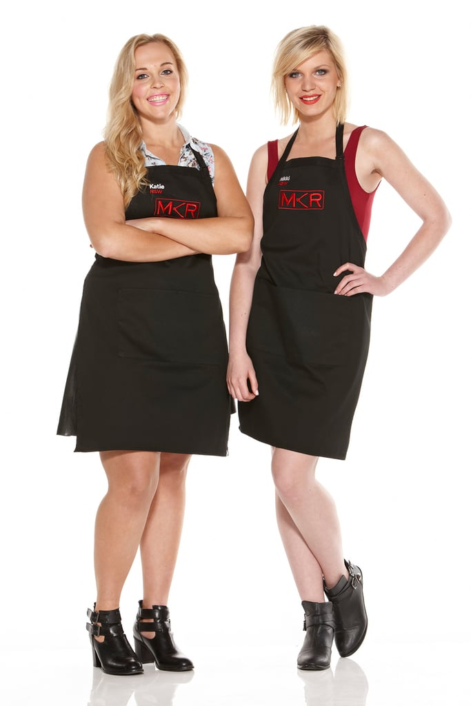 My Kitchen Rules 2015 Elimination Interview: Katie and Nikki