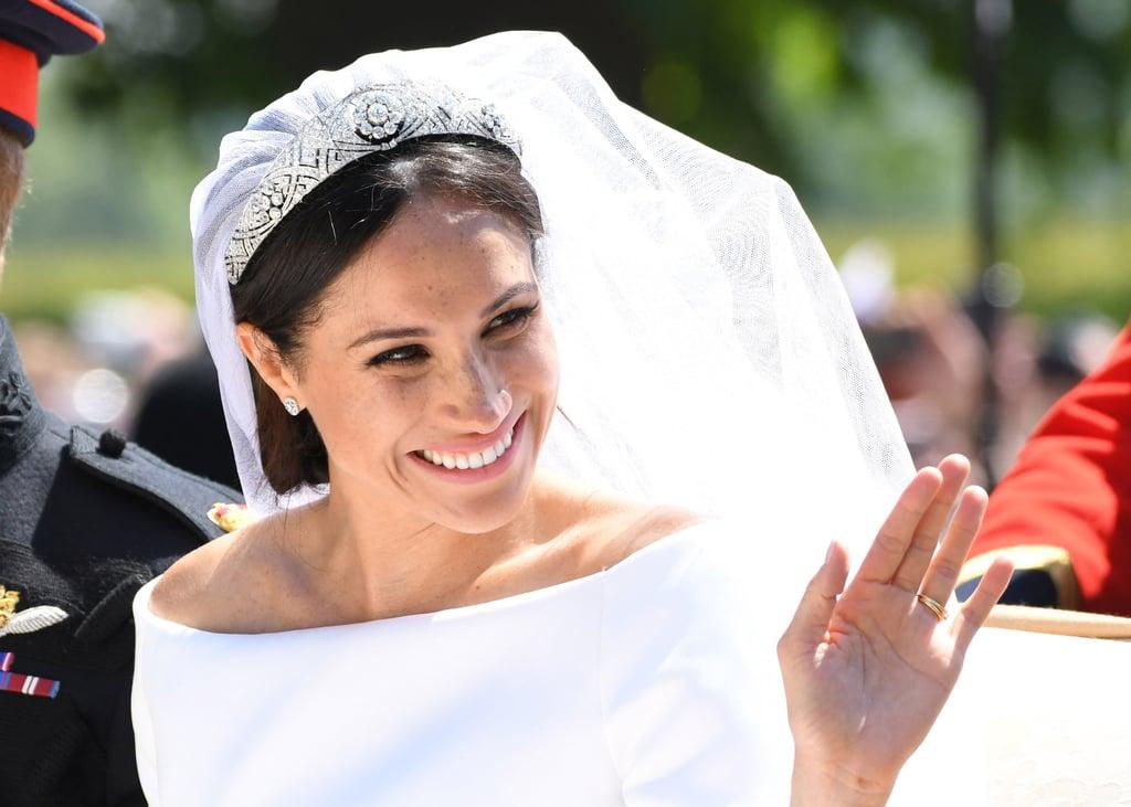 Meghan Markle's Simple Wedding Makeup