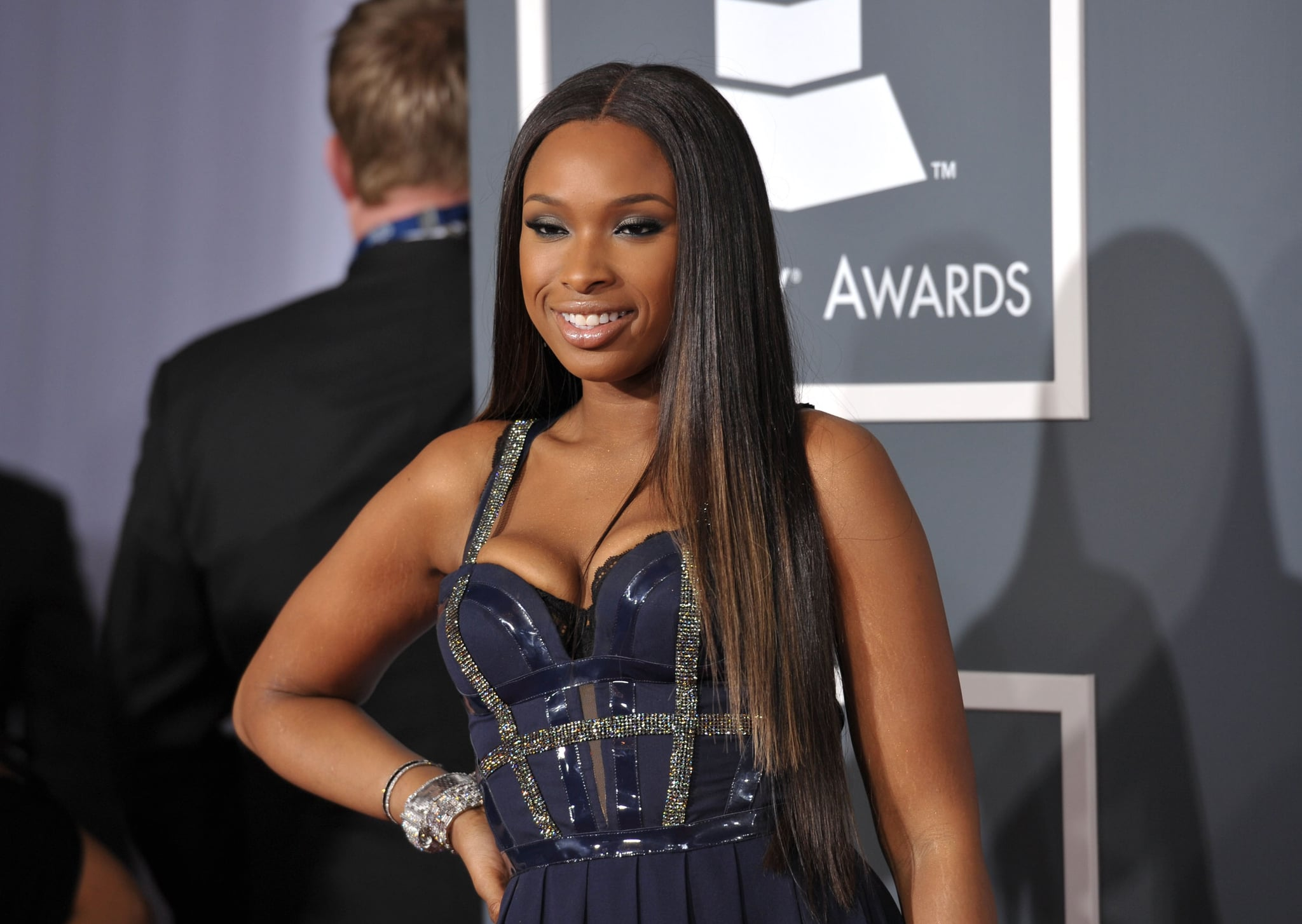 Jennifer Hudson's First Look of the Night at the Grammys