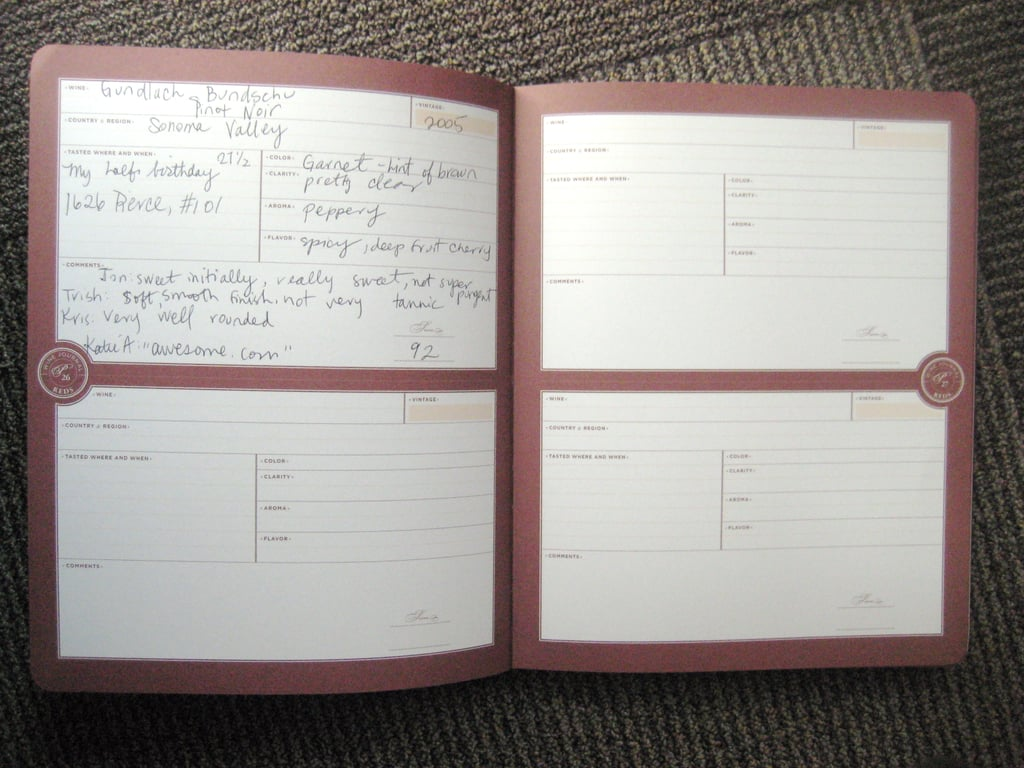 My Wine Journal