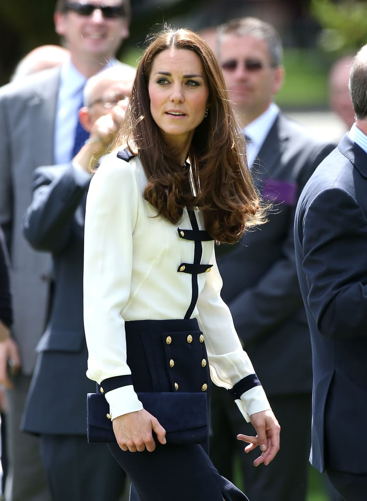 Forget the Short Summer Haircut, We Envy The Duchess of Cambridge's Long Locks