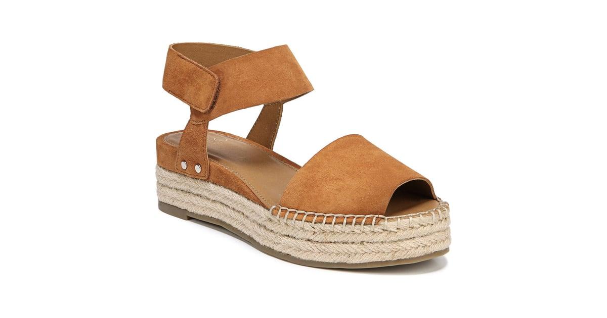 a04aae08fa9 SARTO by Franco Sarto Oak Platform Wedge Espadrilles   Best Sandals ...