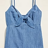 Old Navy Chambray Tie-Front Cami