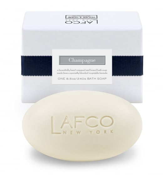 Clean Champagne-Scented Soap