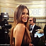 Sofia Vergara Goes Straight and Sleek