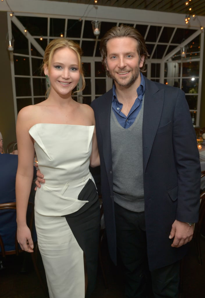 Jennifer Lawrence and Bradley Cooper attended a Vanity Fair celebration together on Wednesday night in LA.