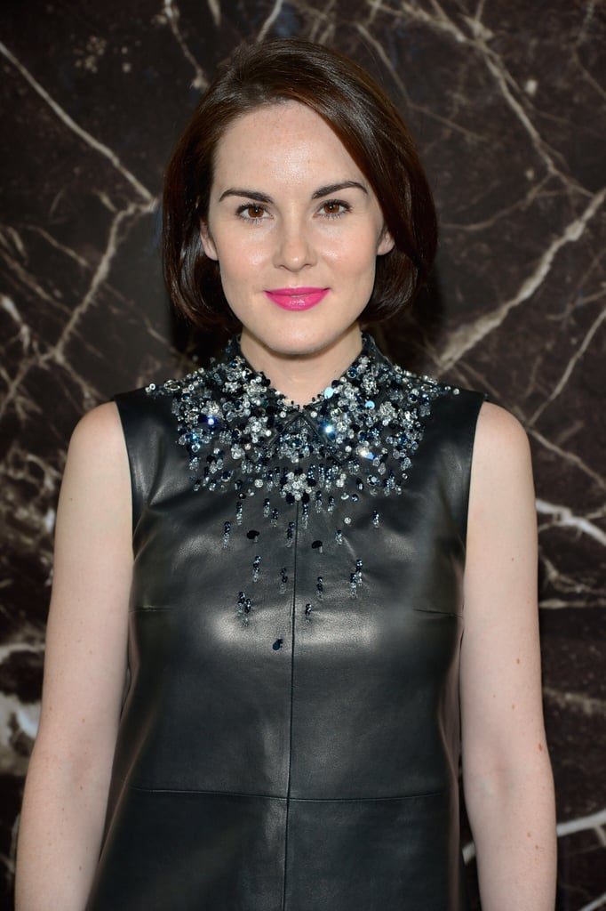 Michelle Dockery at Miu Miu Spring 2014