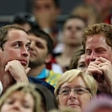 Prince William and Prince Harry Team Up to Watch Gymnastics