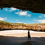 Take a significant other to the hidden Playa del Amor on the Marietas Islands of Mexico.