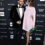 Selena Gomez Pink Valentino Dress at Harper's Bazaar Party
