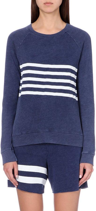 Sundry Striped Jersey Sweatshirt ($185)