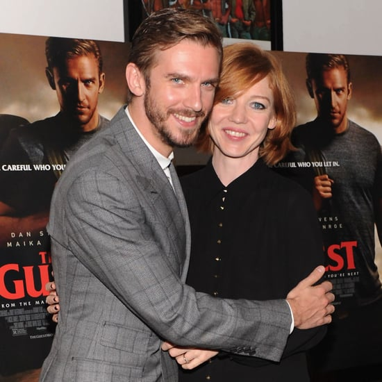 Photos of Dan Stevens and Wife Susie Hariet