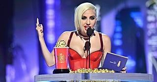 Lady Gaga Showed Up to the MTV Awards to Surprise Fans and Drop an
