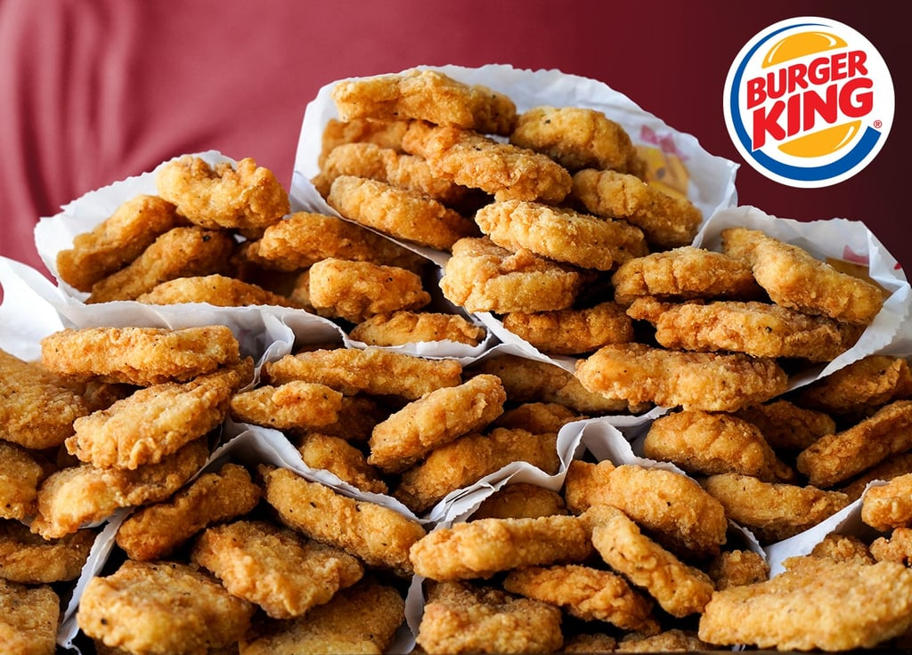 Burger King $1 Chicken Nuggets October 2018
