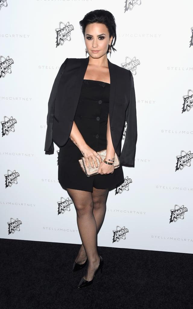 Demi Lovato at Stella McCartney Fall 2016 Preview Red Carpet