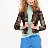 Leopard Calf Hair Jacket, $1,495
