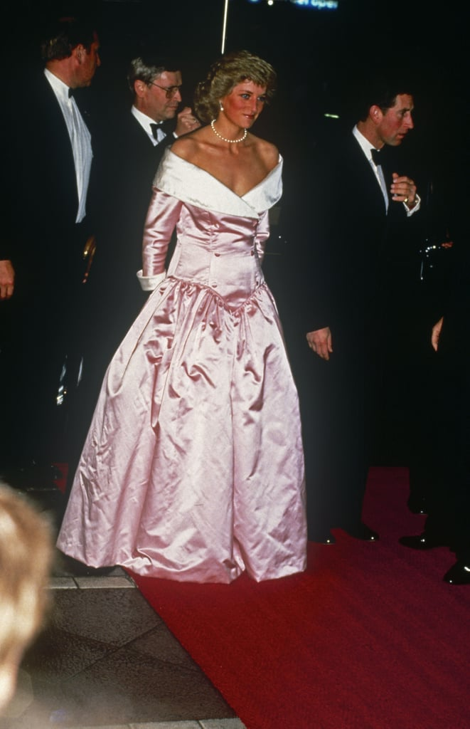 Meghan Markle And Princess Diana Pink Dresses Popsugar