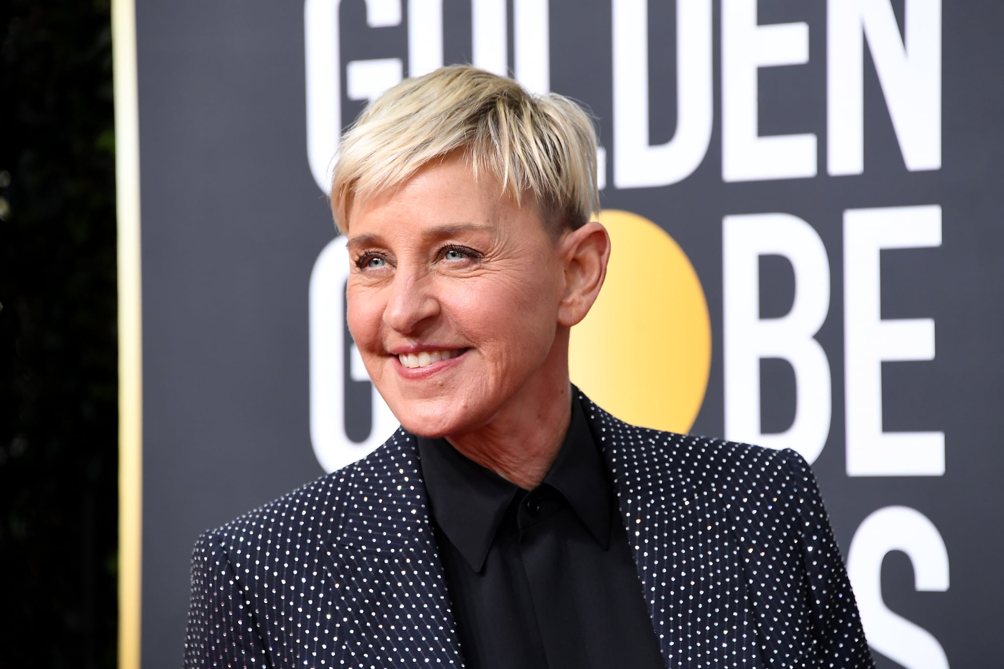 BEVERLY HILLS, CALIFORNIA - JANUARY 05: Ellen DeGeneres attends the 77th Annual Golden Globe Awards at The Beverly Hilton Hotel on January 05, 2020 in Beverly Hills, California. (Photo by Steve Granitz/WireImage)