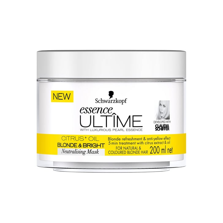 Schwarzkopf Essence Ultimate Blonde and Bright Neutralising Mask, $14.99