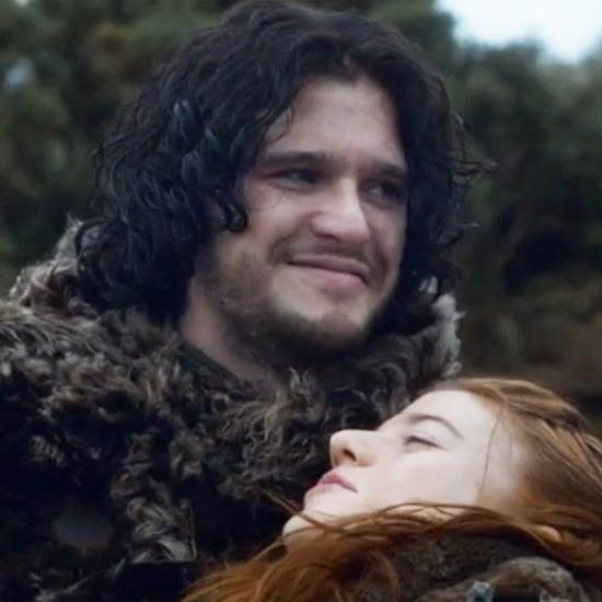 Jon Snow Smiling on Game of Thrones