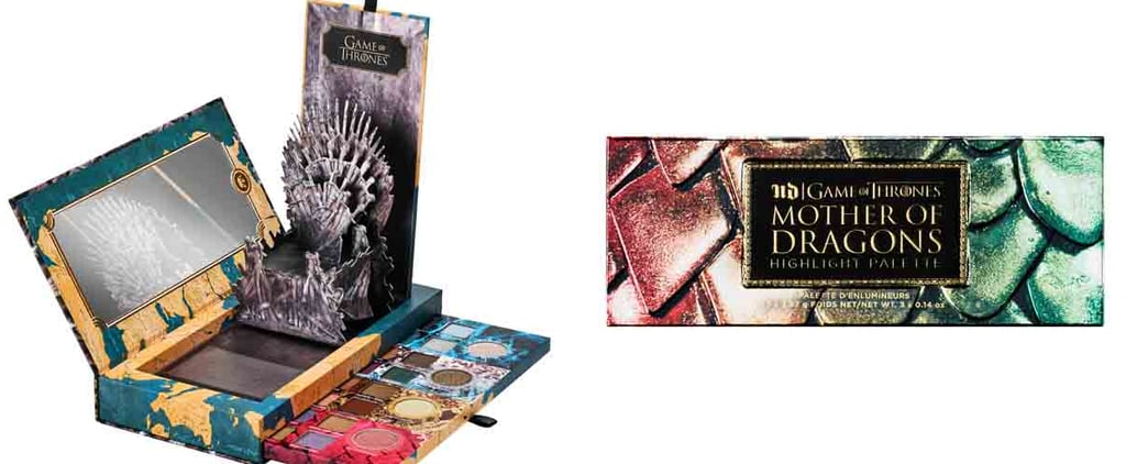 Game of Thrones x Urban Decay Collection Swatches