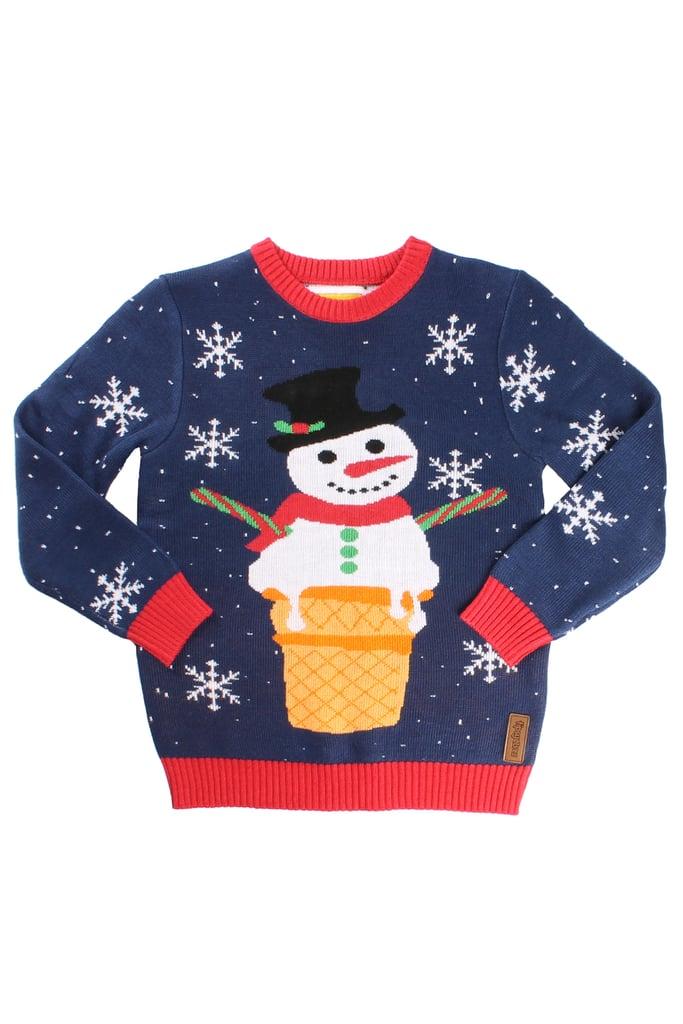Melting Snowman Sweater