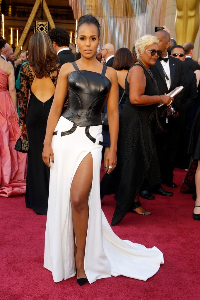 Kerry Washington Versace Dress at Oscars 2016