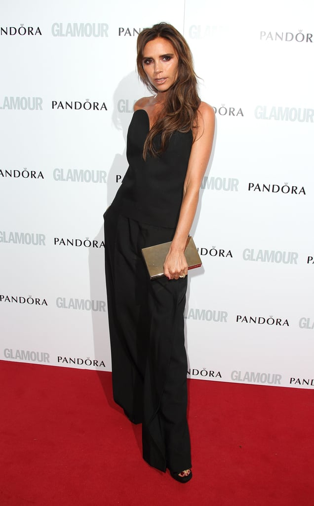 """Victoria Beckham was the epitome of """"posh"""" in a Maison Martin Margiela ensemble at the Glamour Women of the Year Awards."""