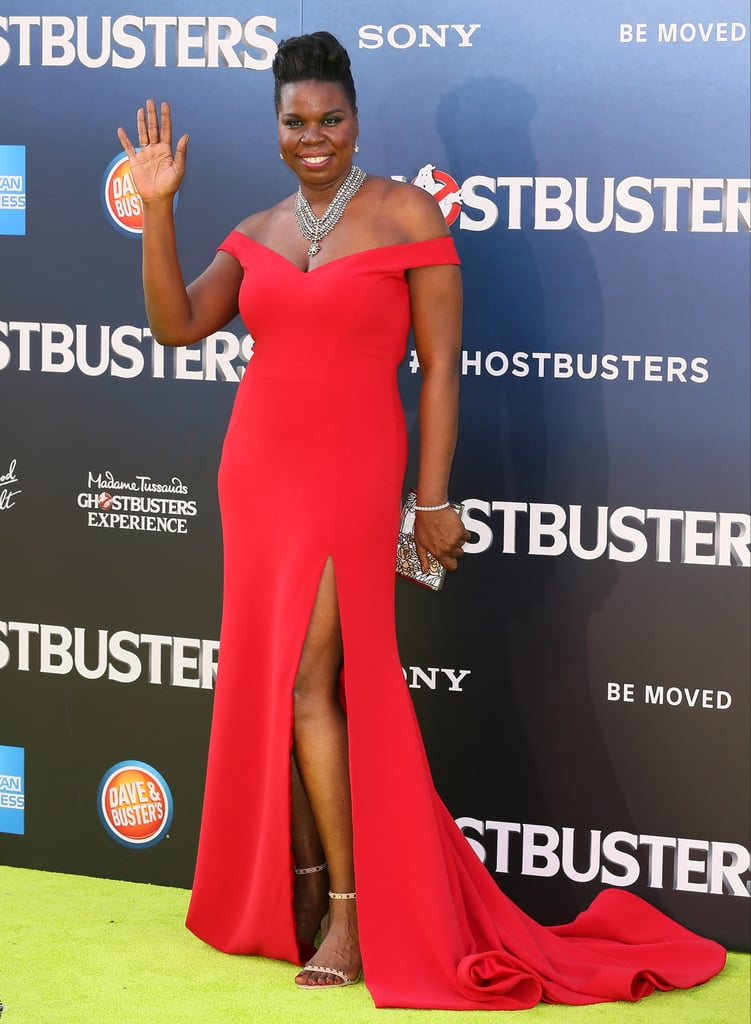 Leslie Jones's Christian Siriano Ghostbusters Premiere Dress