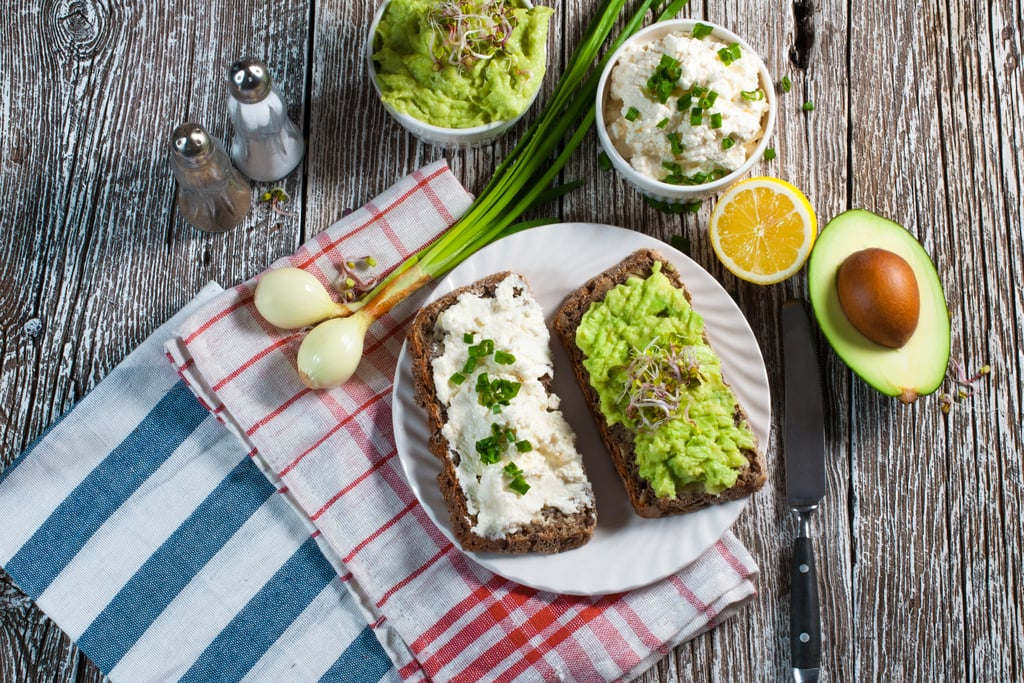 Avocado and Cottage Cheese Toast