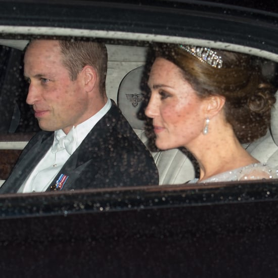 Kate Middleton and Prince William at a Holiday Party 2018