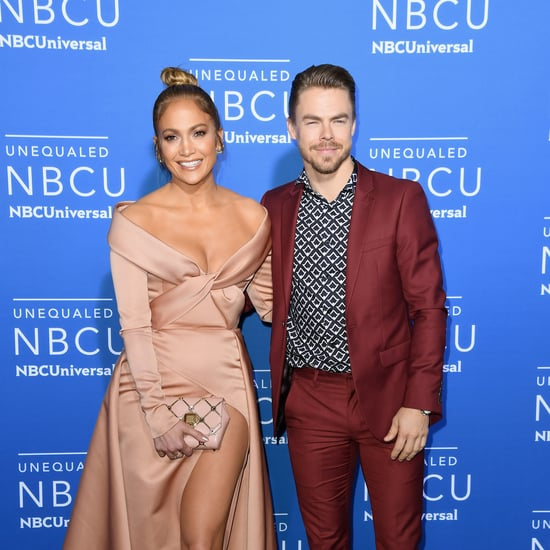 Derek Hough Stepped On Jennifer Lopez's Hair While Dancing