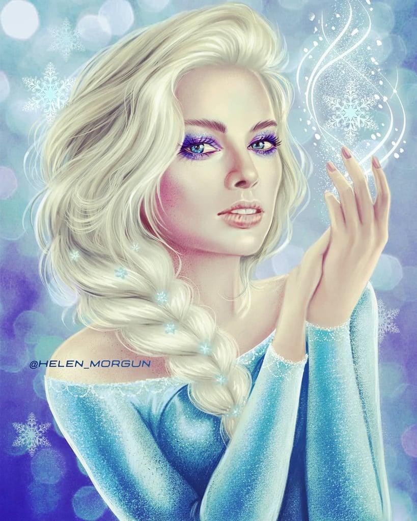 ㄨ faq - comment ça marche ? Margot-Robbie-as-Elsa-From-Frozen