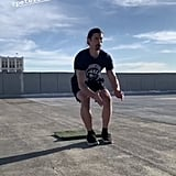 Atomic Get-Up Into a Front Kick