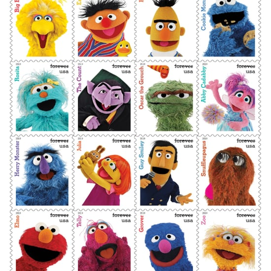Sesame Street Stamps at USPS 2019
