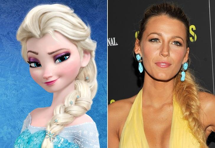 Queen Elsa — Blake Lively