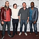Rupert Friend, Jack O'Connell, director David Mackenzie, and David Ajala screened their project, Starred Up.